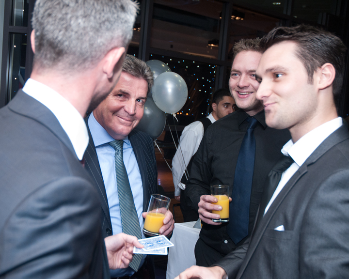 Company parties and Networking events
