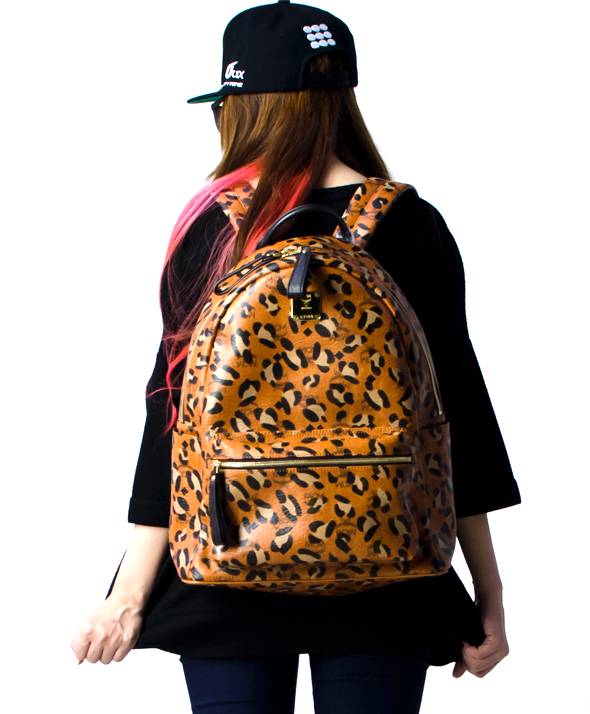 MCM Stark Medium Backpack - Leopard
