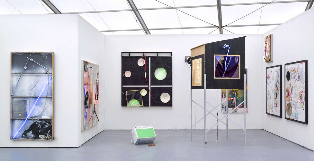Rotten Sun  at UNTITLED Miami Beach, Booth B3. ( Photo : Denis Gardarin Gallery)