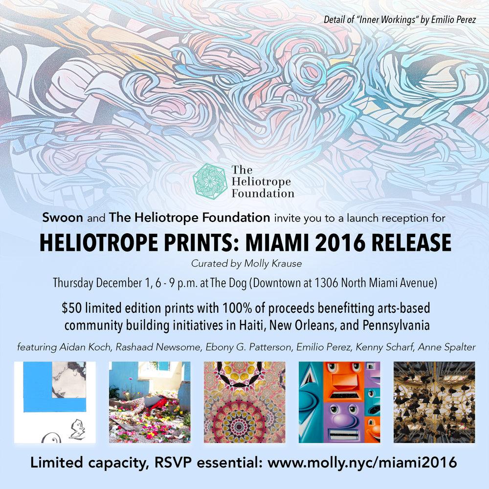 Heliotrope Prints release Miami 2016 invite_Perez