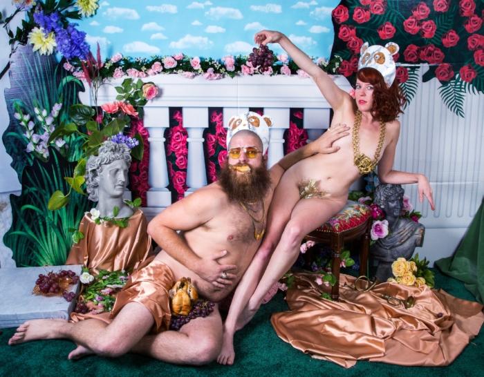 Jen and Paul, photo by Rachel Stern for Art F City.
