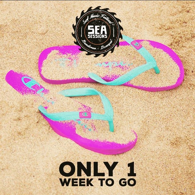 Only one more week!! Tickets are going fast! Make sure you get yours!! #seasessions #wearecoming