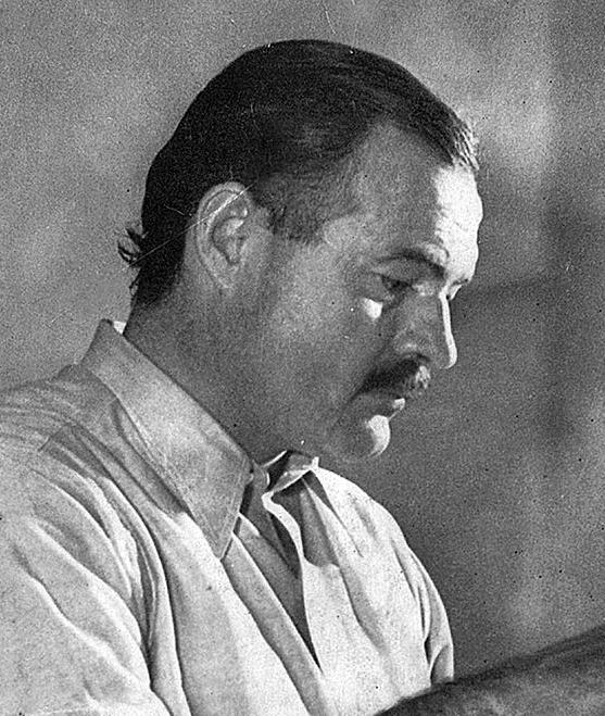 Hemingway nel 1939.