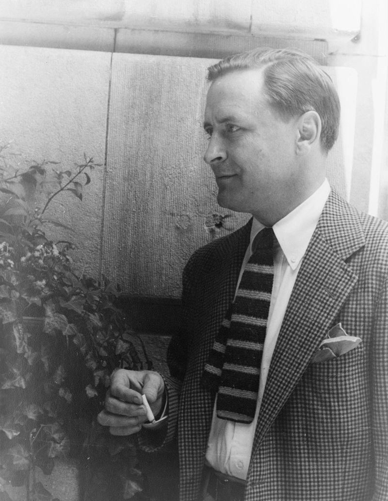 Scott Fitzgerald fotografato nel 1937 da Carl Van Vechten.