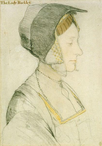 Elizabeth Dauncy, 21, figlia di Thomas