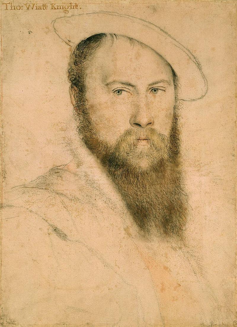 Thomas Wyatt senior, poeta, cortigiano e ambasciatore.