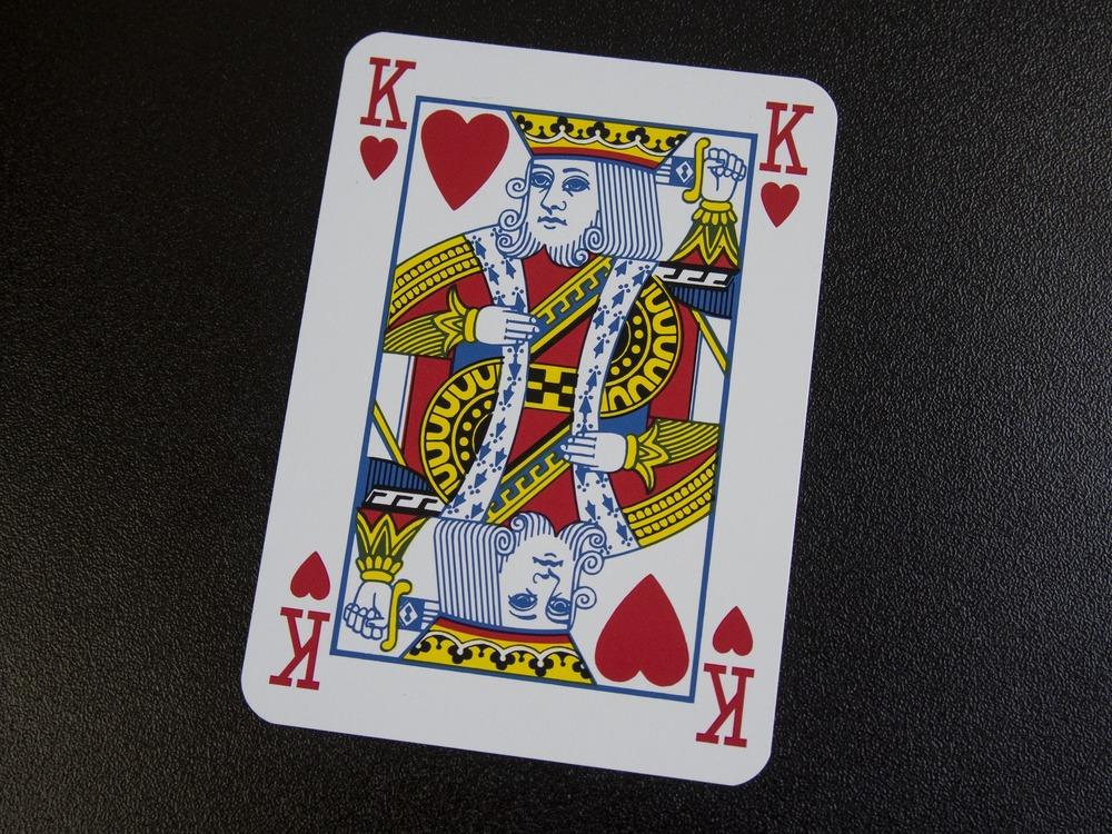 re di cuori - carta da gioco