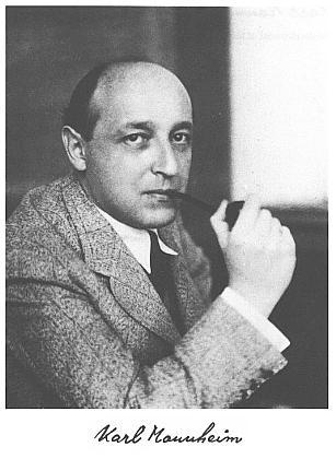 Karl Mannheim.