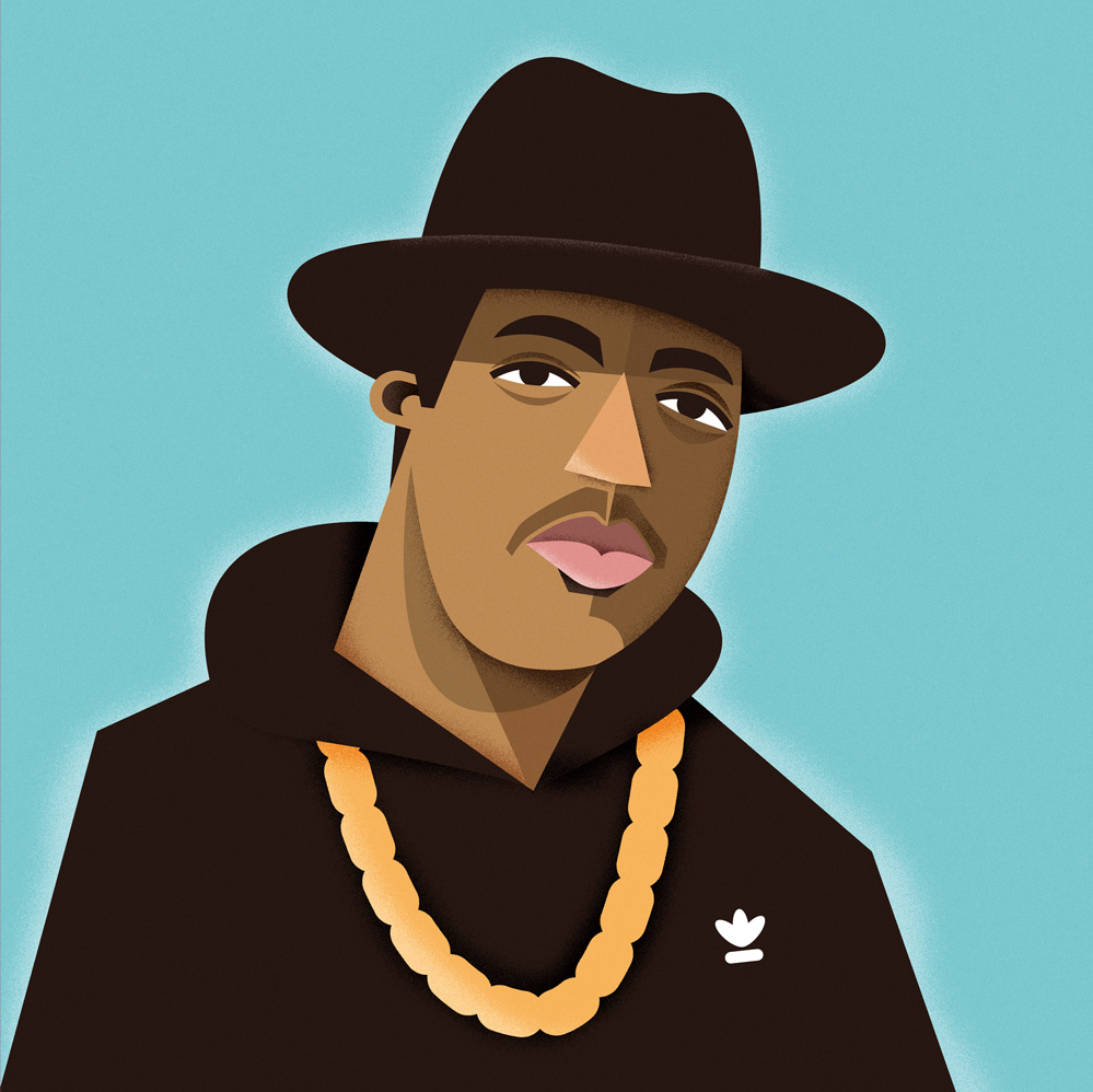 freelance illustrator dale edwin murray hip hop rapper complex media magazine illustration