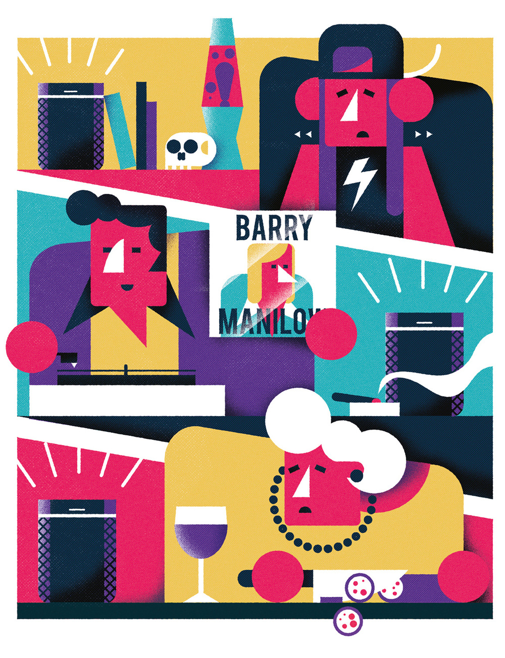 Freelance illustrator dale edwin murray t3 magazine editorial illustration