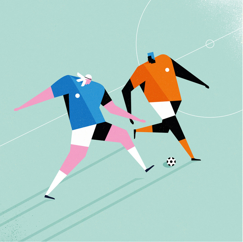 dale edwin murray freelance illustrator personal football illustration