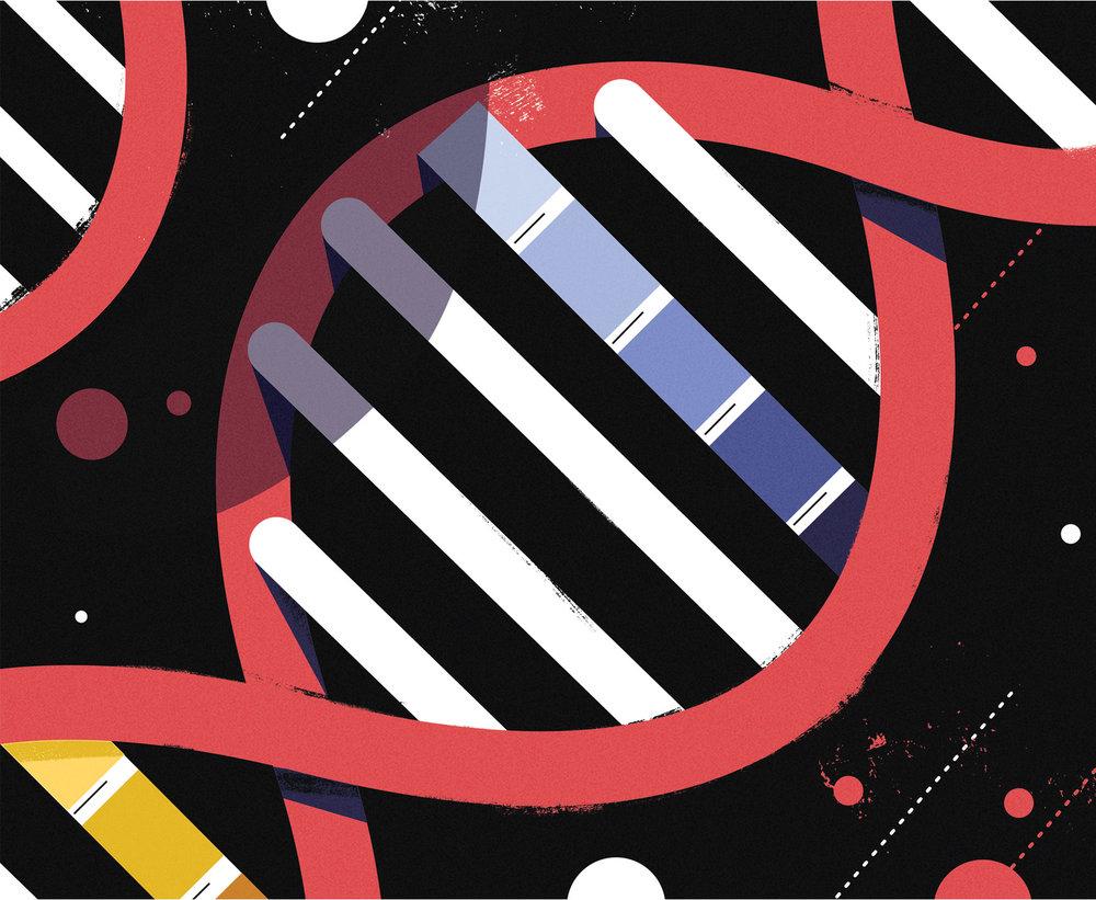 dale edwin murray freelance illustrator waitrose weekend science conceptual editorial illustration