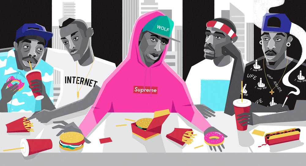 dale edwin murray freelance illustrator lnwy odd future illustration