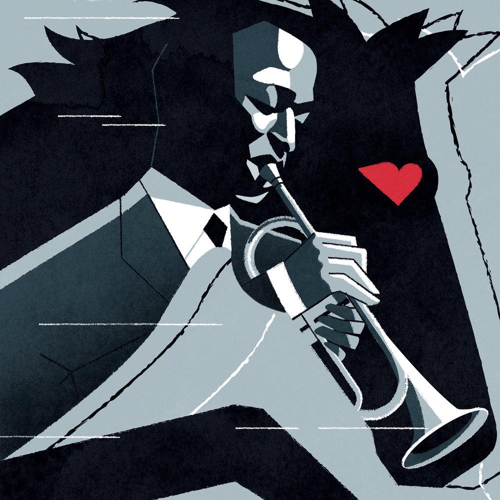 Freelance illustrator dale edwin murray conceptual the jackal magazine illustration
