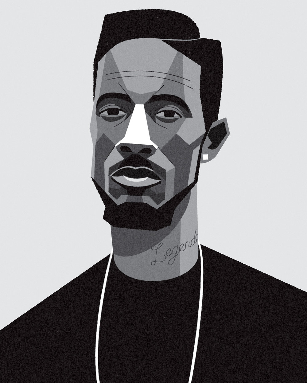 dale edwin murray freelance illustrator d double e grime uk portrait illustration