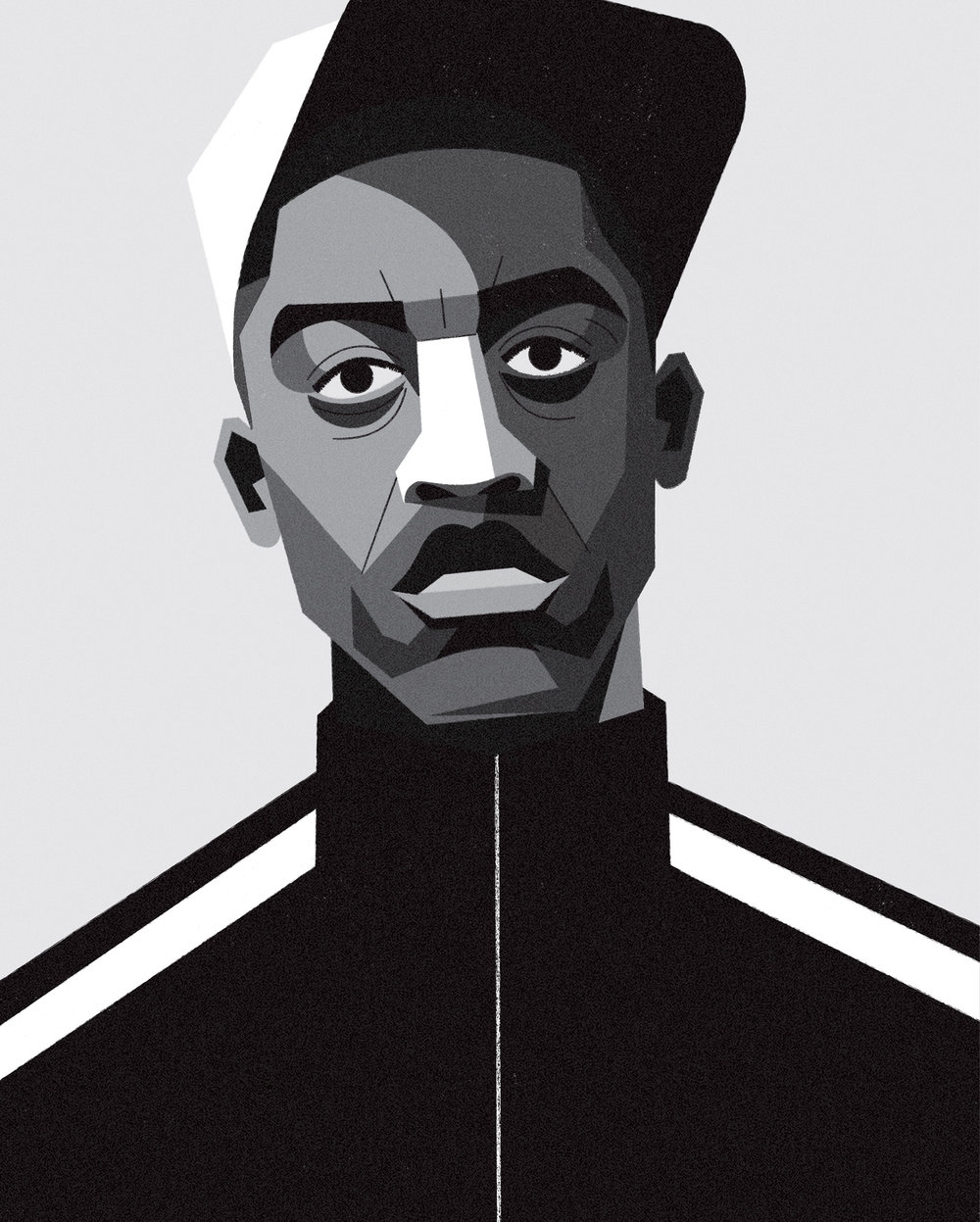 dale edwin murray freelance illustrator wiley grime uk portrait illustration