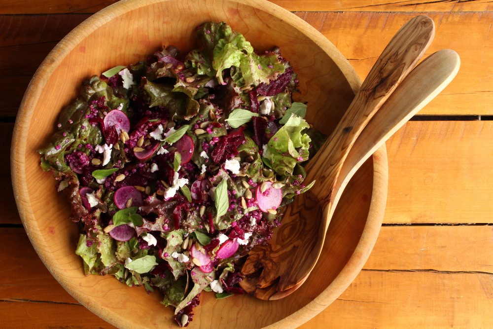 Twelve tips for building a better salad