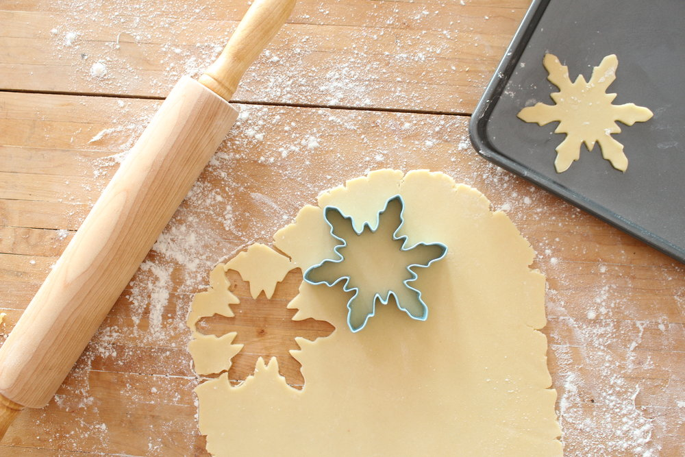watercolor cookies cutout
