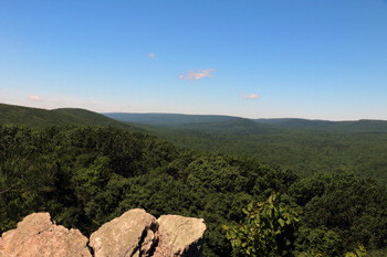 The view from Pole Steeple Trail