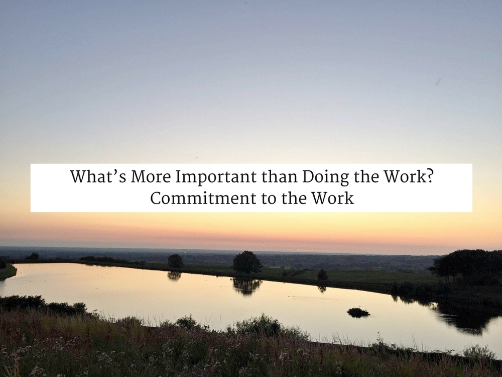 What's More Important than Doing the Work? Commitment to the Work
