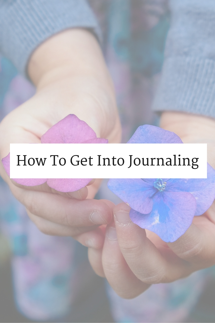 How To Get Into Journaling