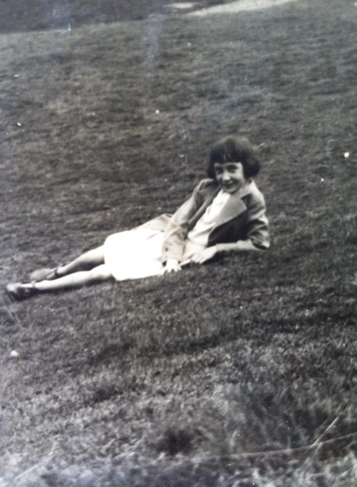 A picture of my Grandma when she was a teenager