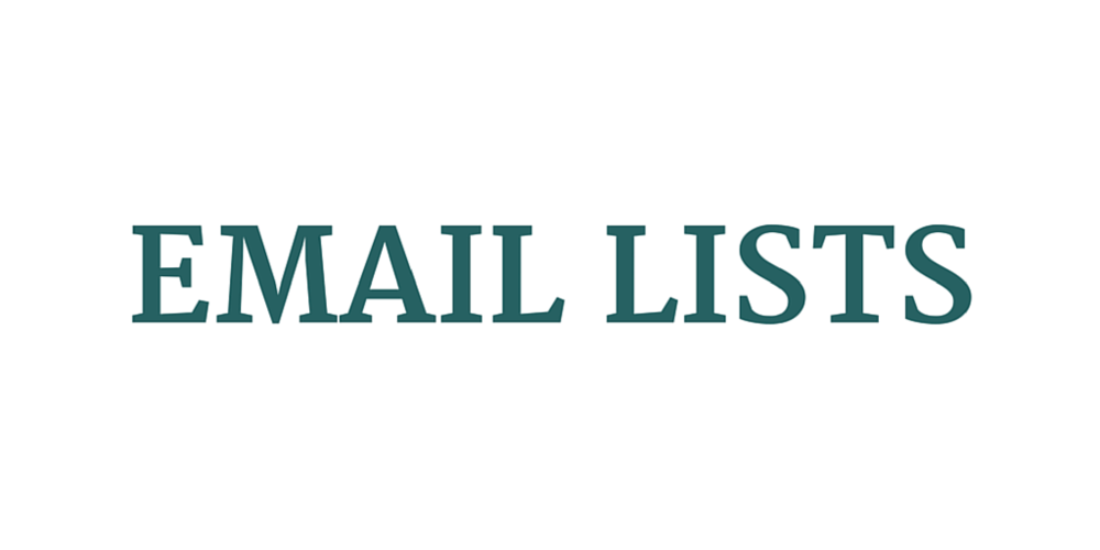 Email Lists
