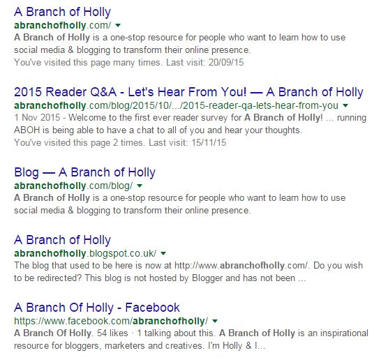 A Branch of Holly