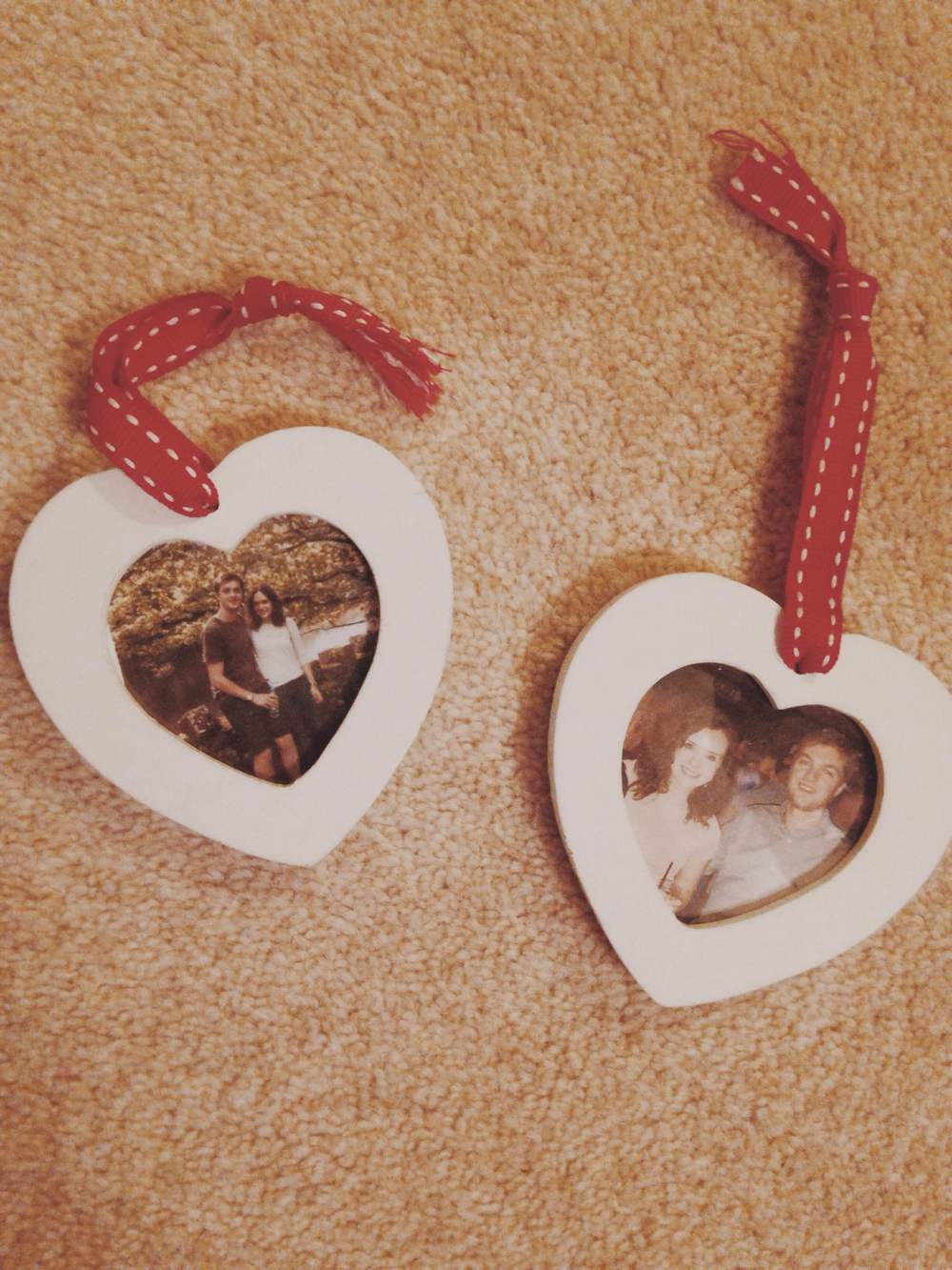 Personalised Christmas decorations from Tom