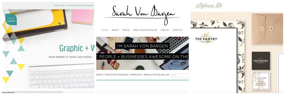 Jess Creatives             Sarah Von Bargen                Spruce Rd