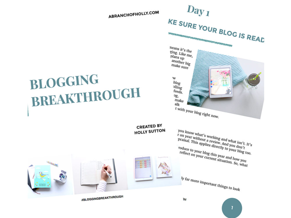 Blogging Breakthrough - the eBook