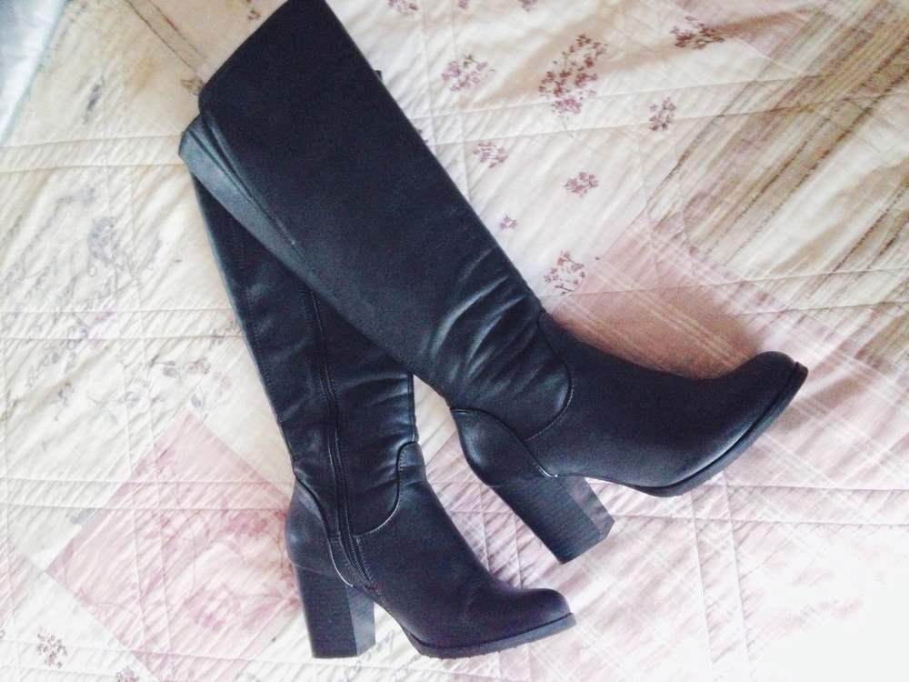 New (amazingly discounted) boots!