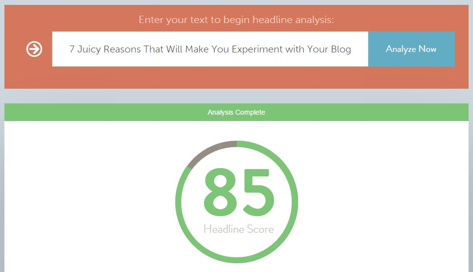 7 Juicy Reasons That Will Make You Experiment with Your Blog