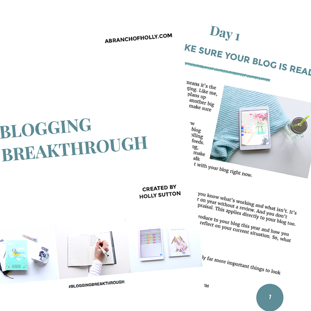 Blogging Breakthrough - the free eBook