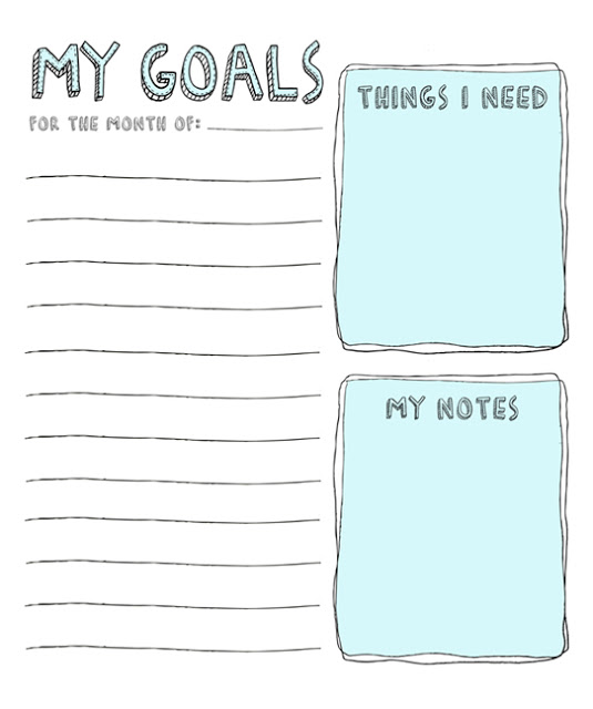 21 printables that will help you plan your life