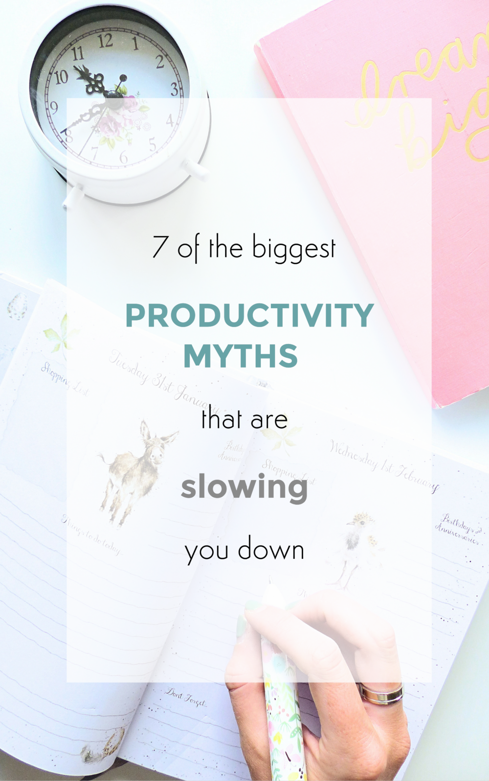 7 of the biggest productivity myths that are slowing you down