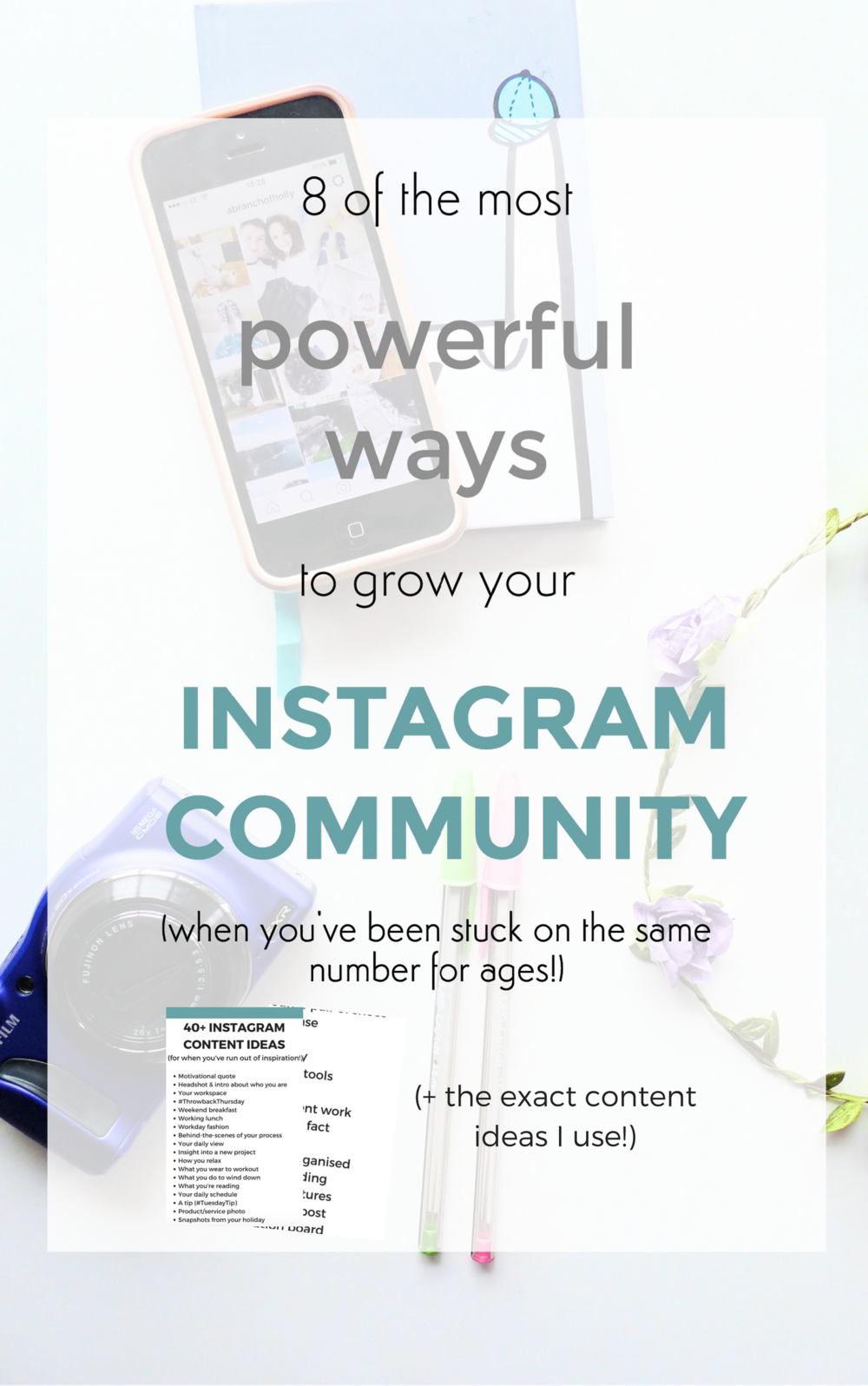 grow instagram community
