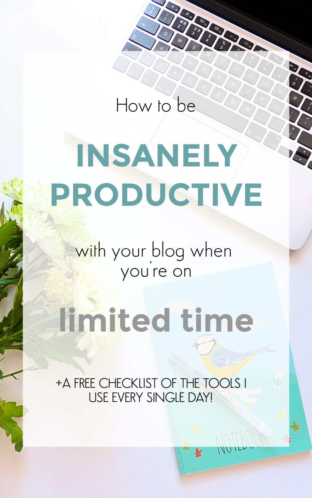 how to be insanely productive with your blog when you're on limited time