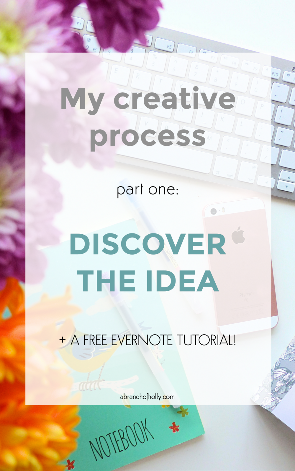 my creative process part one: discover the idea
