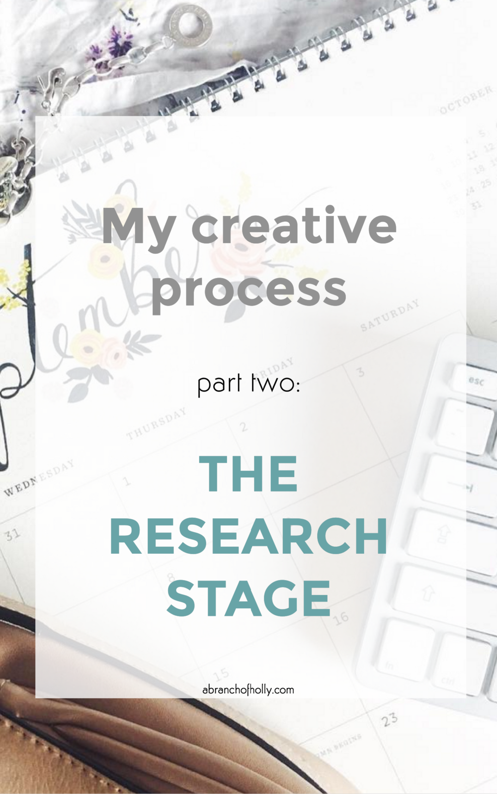 my creative process part two: the research stage