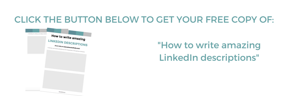 how to write linkedin descriptions
