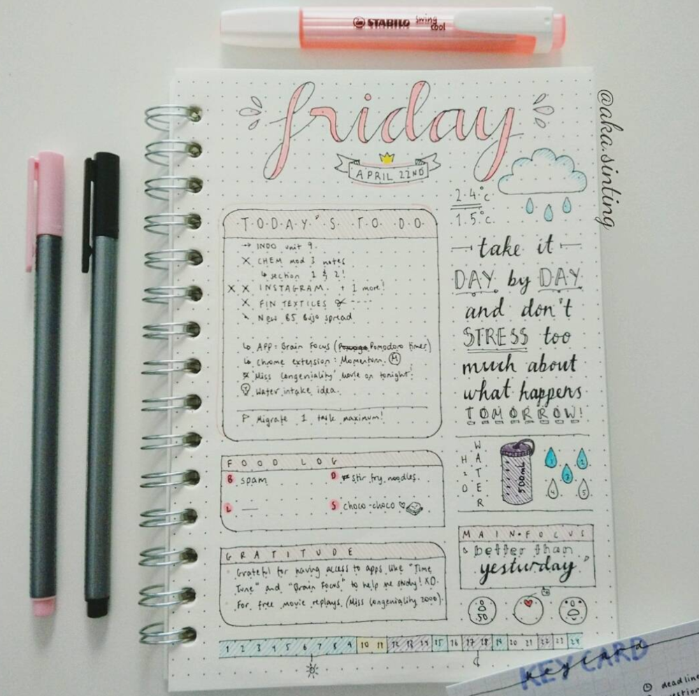 32 OF THE BEST THINGS YOU CAN TRACK IN YOUR PLANNER (THAT