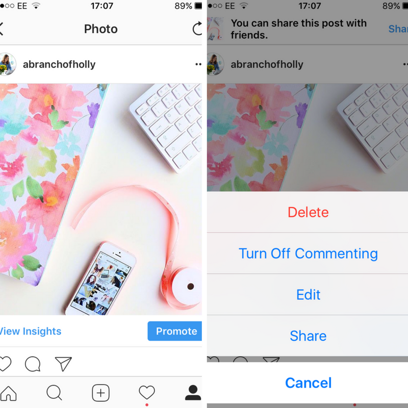 how to save your instagram photos to pinterest