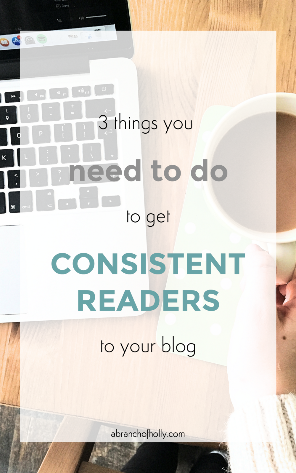 get consistent readers to blogtem