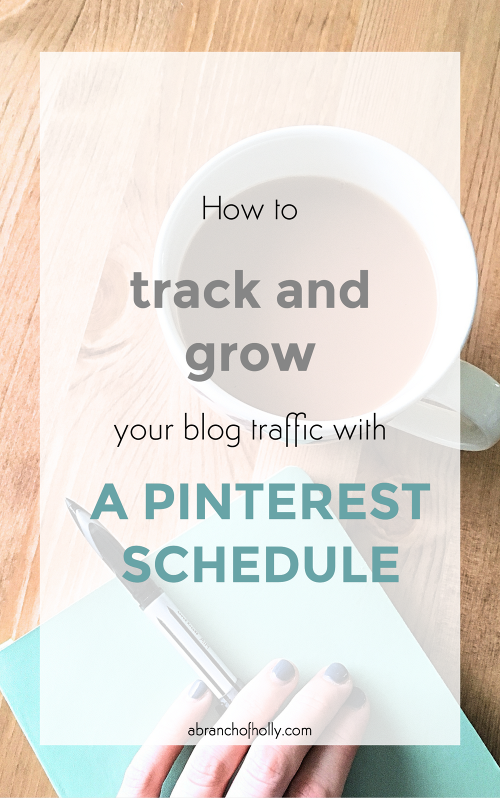 track and grow your blog traffic with pinterest