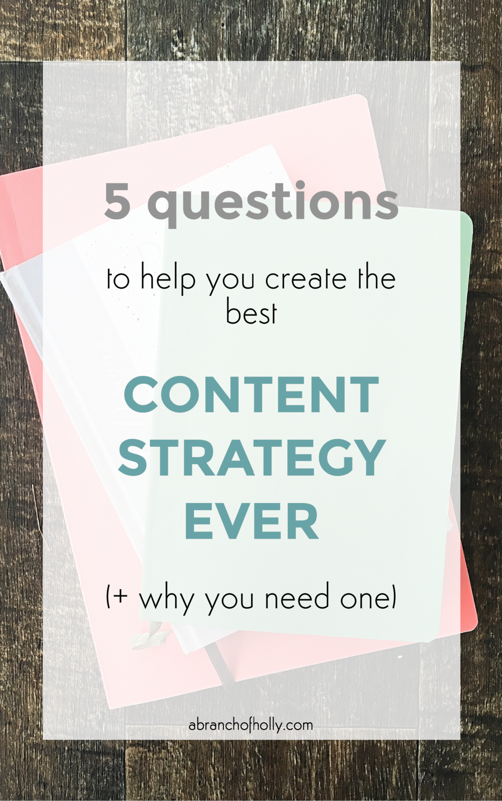 create best content strategy ever