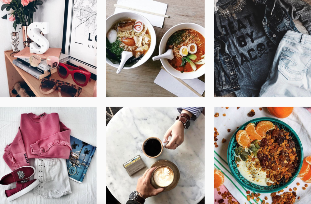 use instagram to improve online brand
