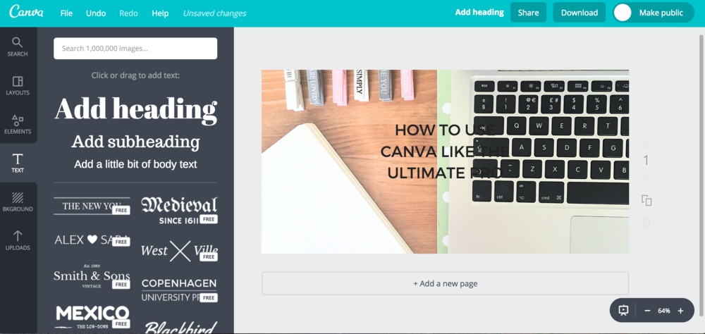 HOW TO USE CANVA LIKE THE ULTIMATE PRO