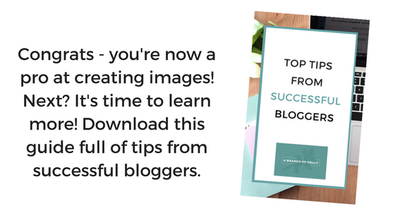 free guide of tips from successsful bloggers