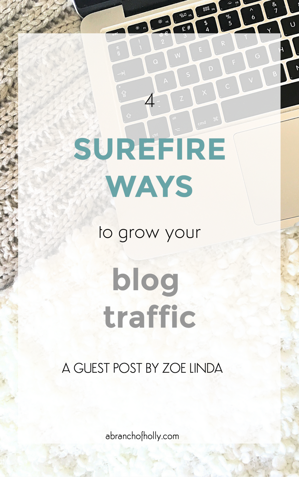 4 surefire ways to grow your blog traffic